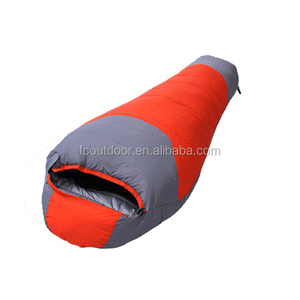 Wearable Mummy Thick Down Camping Travel Sleeping Bag