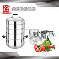 CYST326C-5 stainless steel food steamer