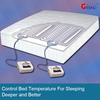 Climate Control Dual Zone Heated Mattress Pad For Better Sleeping
