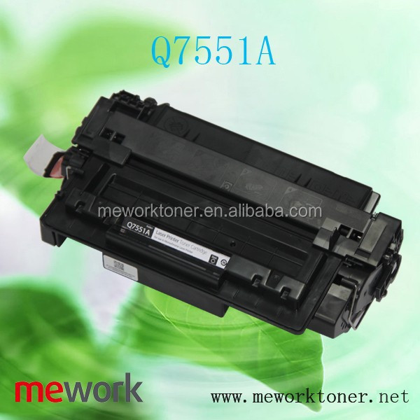 Q7551A Compatible Toner Cartridge for HP LaserJet, printer parts