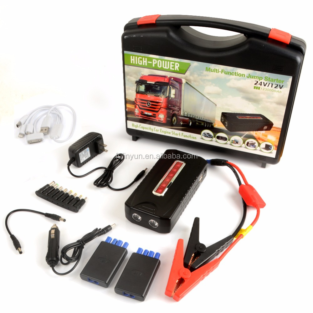 Car Accessories Wholesale 23000mAh Jump Starter 12V Diesel Version