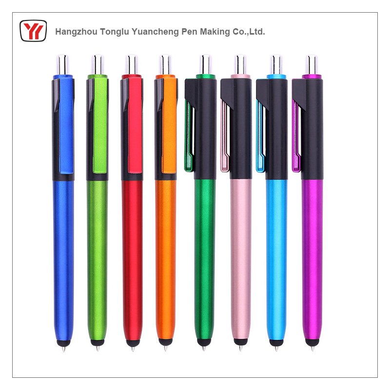 hot selling customise promotional eco plastic pen with tooth cover
