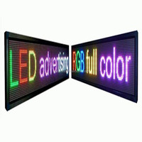 PH10 two face led programmable sign display board, double sided outdoor scrolling led sign