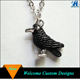 Wholesale Artificial 3D Black Raven Charms