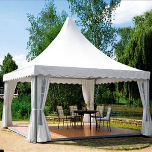 Aluminium Frame PVC Cover Marquee Reception 5x5 6x6m Party Gazebo Square Tent