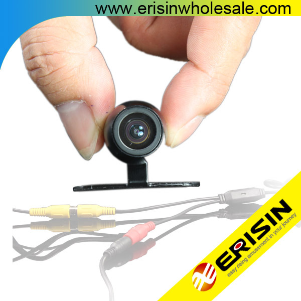 Erisin ES580 CCD Car Rear View Camera 170 Degree View Angle 18mm Mini Design ES580 Color CCD