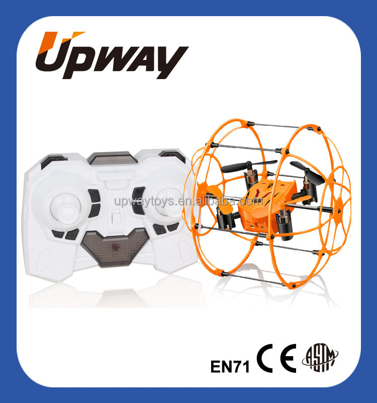 RC Drone Wall Climbing Ball Mini Size Wall Climbing Multi-Function 2.4G RC Drone With 6-Axis Gyro