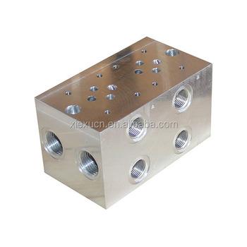Precision Machined Cnc Hydraulic Valve Block - Buy Hydraulic Relief Valve  Block,Solenoid Valve Block,Block Expansion Valve Product on Alibaba com
