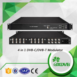 Digital headend encoder 12 FTA DVB-S2 to RF trans modulator with IP output