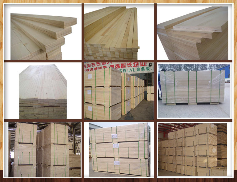 LVL for packing pallets use