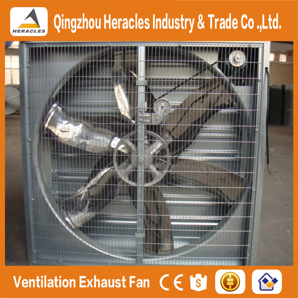 Hot Selling HE-1000 push pull type ventilation cooling Fan for greenhouse and poultry house