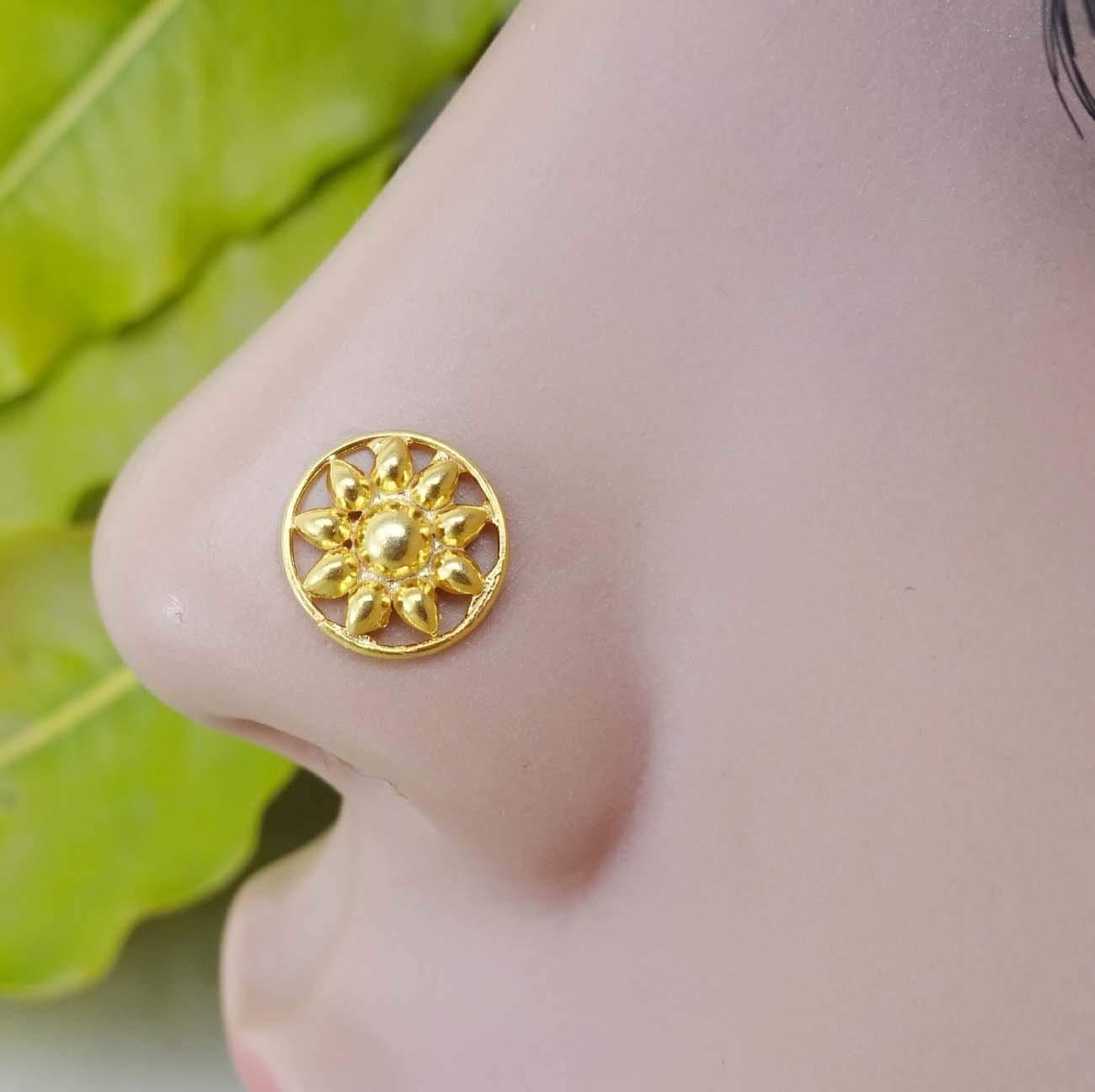 Cheap Flat Gold Nose Stud Find Flat Gold Nose Stud Deals On Line