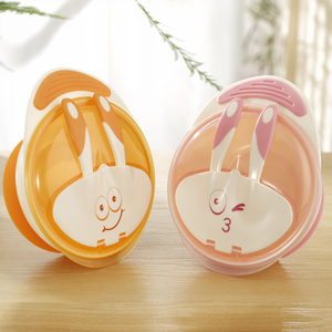 Wholesale safe baby food bowls grade safety suction baby bowls and spoons