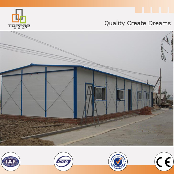 OEM sandwich panel wall house prefab modular build room canteen sets