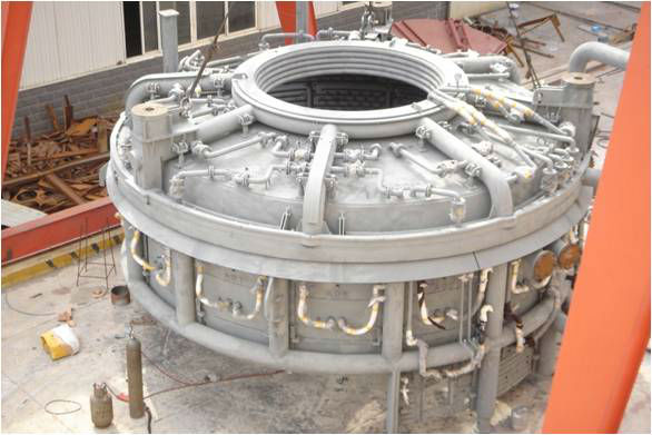 Electric Arc Furnace Water Cooling Roof - Buy Electric Arc Furnace Water  Cooling Roof,Water Cooled Furnace Roof,Water Cooled Roof For Eaf Product on