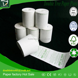 Thin Thermal Paper for Printing, Used in Supermarket, Bank, ATM, POS and Fax