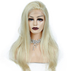Wholesale 613 Hair Full Lace Front Wig Pre Plucked 360 Lace Wigs Human Hair Blonde 360 Lace Frontal Wig