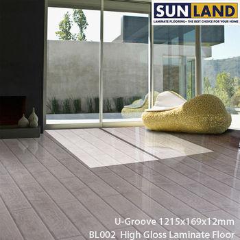 White Oak High Glossy Piano Laminate Flooring With Best Price Buy