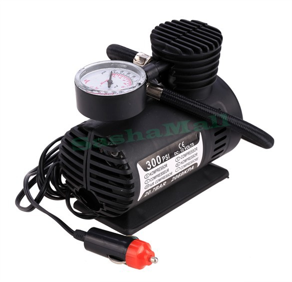 New Portable Mini Air Compressor 12v Car Electric Tire Infaltor inflatable Pump 24