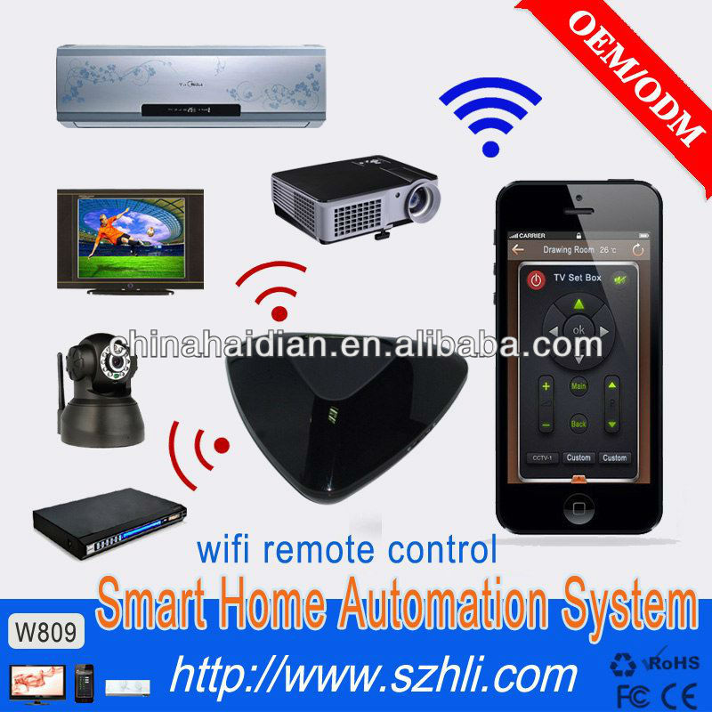 2018 Will Hot! Newest Smart WIFI Remote Controller Running via Smartphone APP, Wifi to IR Multi Integrated Smart Controller