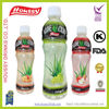 Houssy concentrated fruit flavors aloe vera drinks with aloe cube