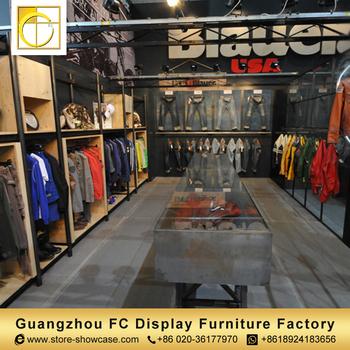 Good Factory Cheap Retail Clothing Store Furniture Garment Shop Interior Design  Modern Shop Counter Design For Garment