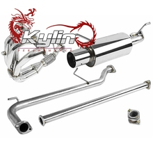 "Kylin Racing 4"" MUFFLER TIP CATBACK/CAT BACK+HEADER EXHAUST"