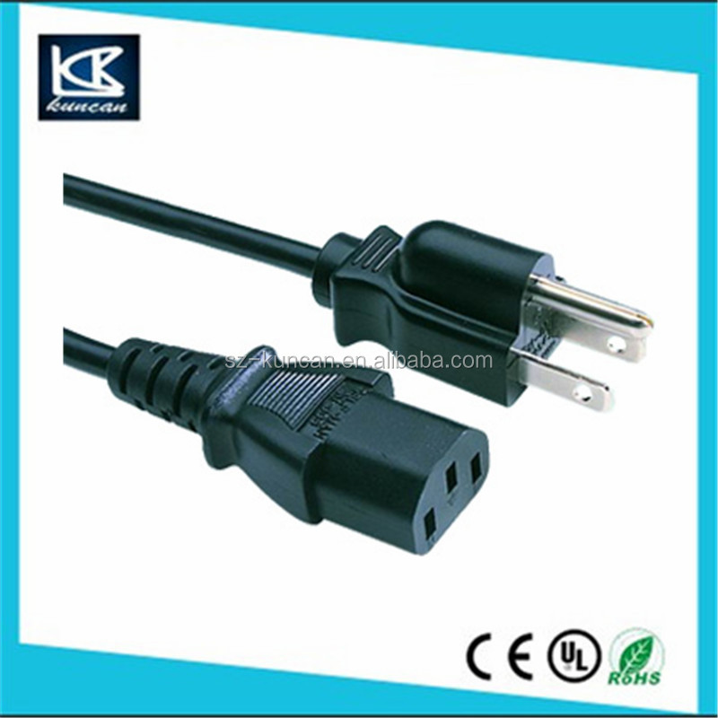 approval gfci USA standard gfci power cord USA NA15 leakage protection plug