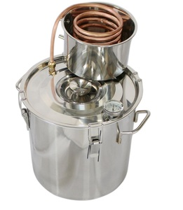 8Gal/30L Distilling Equipment Stainless Steel Copper Pipe Home Alcohol Distiller Water Oil Vodka Whiskey distillers