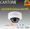 p2p ip camera ONVIF 3Megapixel IP66 Waterproof Dome POE IP Camera