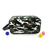 1CS0252 2017 Fashion Portable Army Green Nylon Smart Womens Washbag Military Camouflage Hanging Travel Toiletry Bag