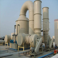 PP tower scrubber tower GRP gas absorption tower