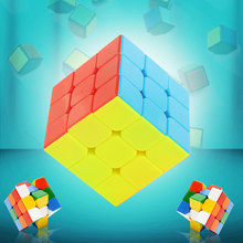 3x3x3 Speed Cube Fisher Magic Puzzle Cubes Kids Educational Toy