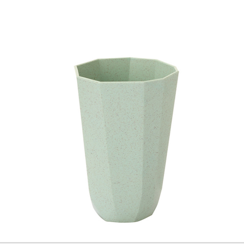 Zogifts modern bamboo fiber diamond gifts fashion concise lovers Irregular cup