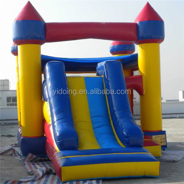 Outdoor <strong>inflatable</strong> bouncy castle, commercial <strong>inflatable</strong> jumping with slide B3009