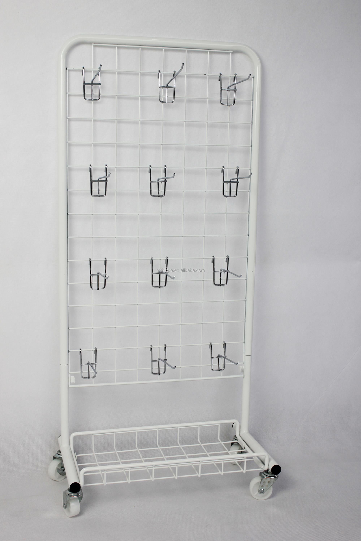 Groceries Display Wire Chip Bag Rack Floor Shelf Standing Displays Stand