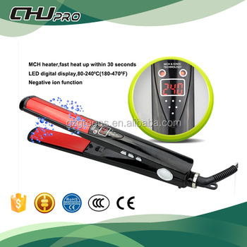 chemical free hair straightener indonesia ceramic hair flat iron