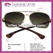 Wholesale High Quality 2011 Latest Fashion Metal Sunglasses For Men