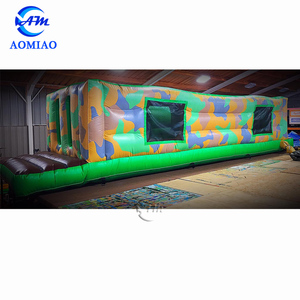Hot sale outdoor kids obstacle course equipment used commercial obstacle course for sales