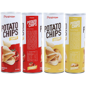 Panpan halal snack fries potato chips for store