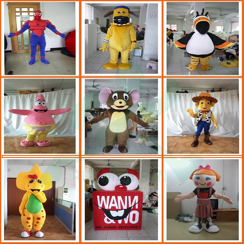 Lovely CE pikachu mascot costumes, used pokemon mascot costumes for sale