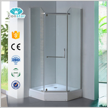 Cheap Price Corner New Designed Hote Enclosed Steam Shower Room Cubicle With Toilet