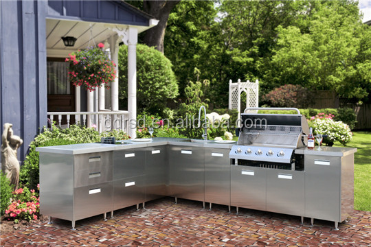 FADIOR HY001 stainless steel BBQ outdoor kitchen