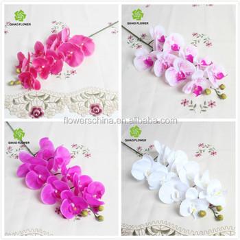 Pas Cher En Gros Fleur De Soie Orchidees Artificielles Longue Tige