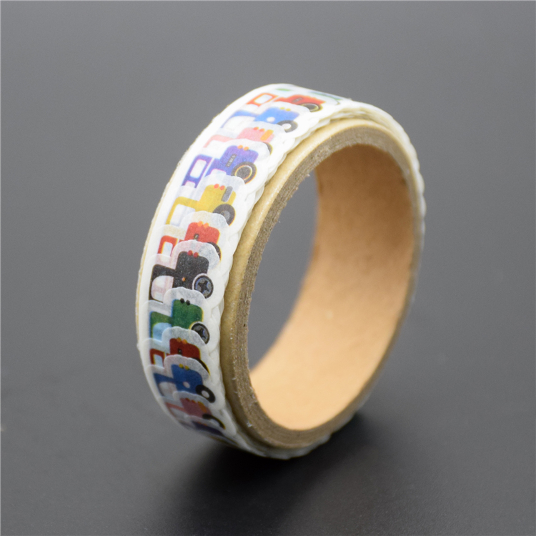 Hot Selling Custom Printed Cherubic Diy Paper Crafts Portuguese Decorative Washi Plant Rice Tape