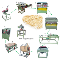 Automatic Bamboo Toothpick Making/Maker Machine For Sale