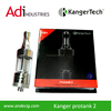 Kanger ProTank II Clearomizer (empty) - Made from PYREX. This tank will not crack from e-liquids.