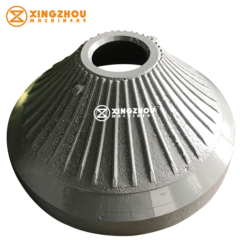 Mining Machinery High Quality High Manganese Conecave and Mantle for cone Crusher for Mn13Cr2 Mn18Cr2 Mn22Cr2