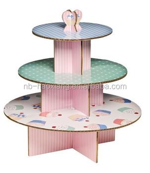 Cardboard  Layer Cake Decoration