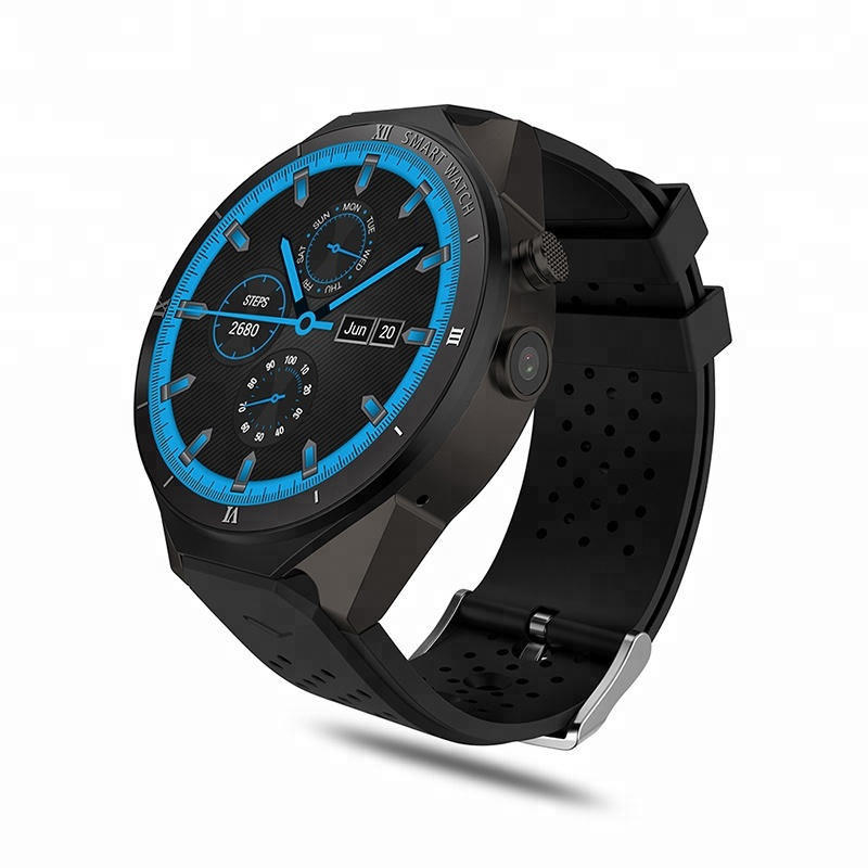Kingwear KW88 Pro 3G Smartwatch Android 7.0 MTK6580 1GB RAM 16GB ROM Heart Rate WiFi GPS Smart Watch Phone Wearable Devices
